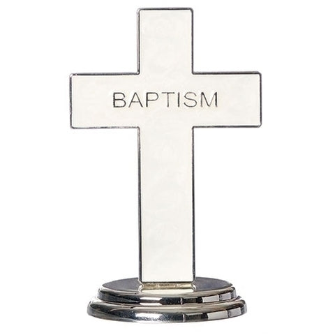 "Caroline Collection 5.5""H Baptism Table Cross"