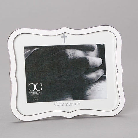 Communion White Frame Caroline Collection
