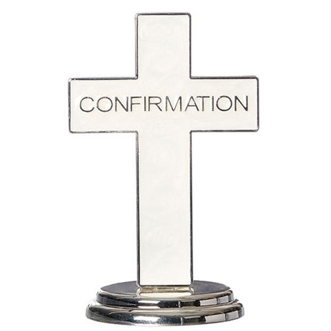 "Caroline Collection 5.5""H Confirmation Table Cross"