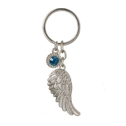 Roman March Angel Wing Keychain Caroline Collection