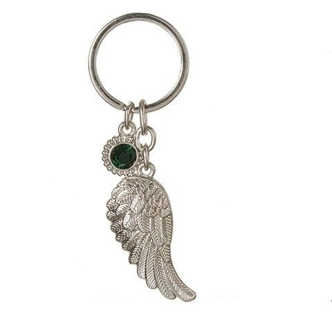 Roman May Angel Wing Keychain