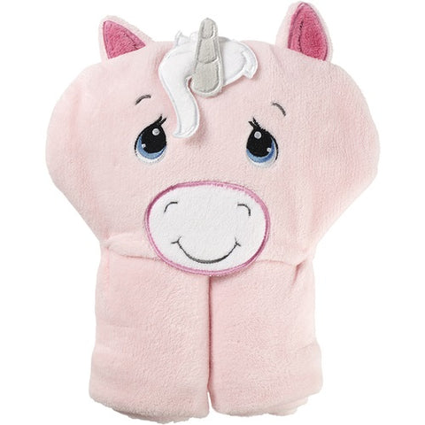 """Sparkle"" Unicorn Hooded Blanket by Precious Moments"