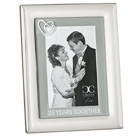 25 Years Together Frame from Caroline Collection