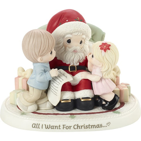 Precious Moments All I Want For Christmas Figurine