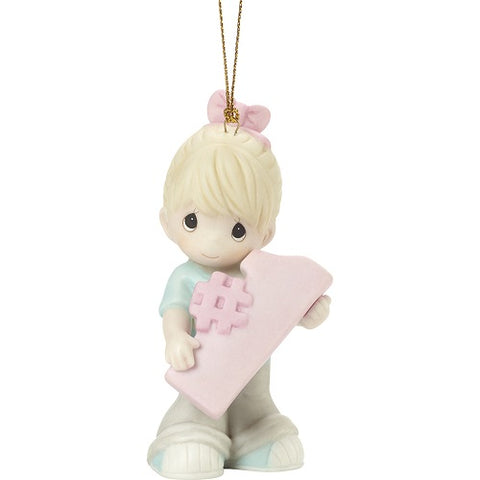 #You're Awesome Blonde Girl Ornament by Precious Moments