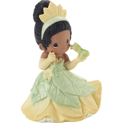 Precious Moments Disney Showcase You Make My Heart Leap Tiana Figurine