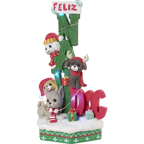 Feliz Navi-dog LED Musical by Precious Moments