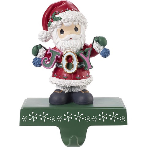 Joy Santa Stocking Holder by Precious Moments