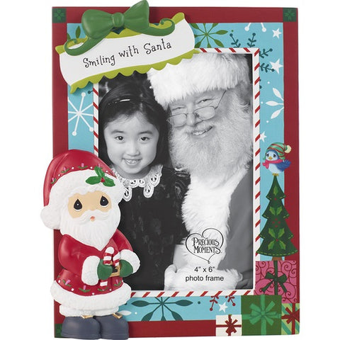 My Visit With Santa Photo Frame by Precious Moments