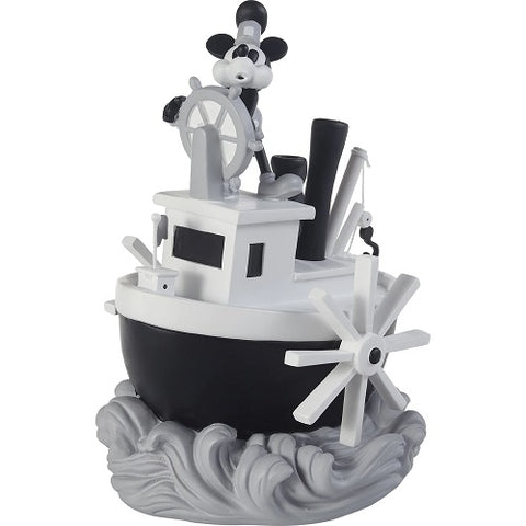 Precious Moments Steamboat Willie Mickey Mouse Musical