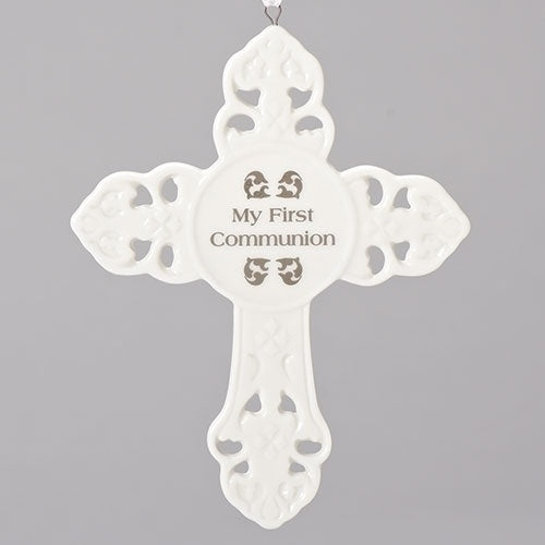 My First Communion Cross Ornament