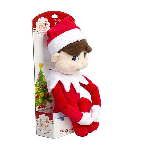 The Elf on the Shelf Plushee Pals Boy Elf - Ria's Hallmark & Jewelry Boutique