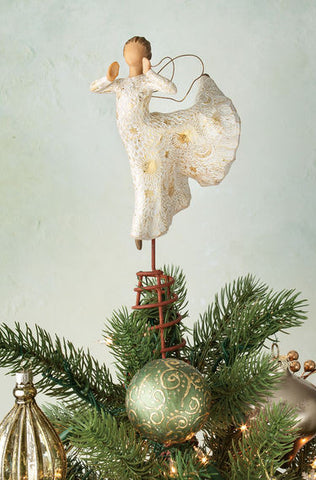 Willow Tree Song of Joy Tree Topper Figurine - Ria's Hallmark & Jewelry Boutique