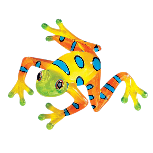 "Glass Baron Frog ""Rain Forest"" Large"