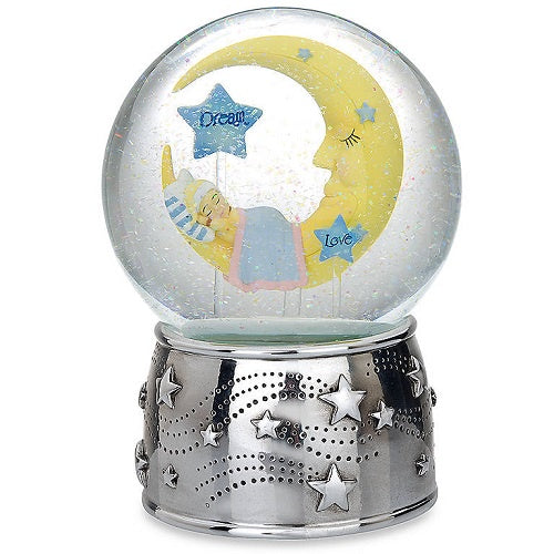 Sweet Dream Silverplate Musical Waterglobe by Reed & Barton