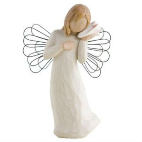 Willow Tree Thinking Of You (Angel) Figurine - Ria's Hallmark & Jewelry Boutique