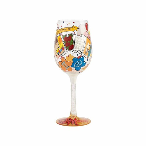 Lolita Wine Glass - June Birthday