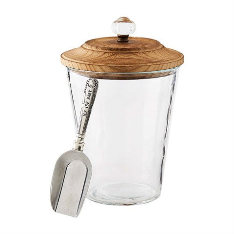 Mud Pie  Door Knob Ice Bucket Set