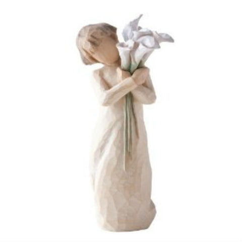 Willow Tree Beautiful Wishes Figurine - Ria's Hallmark & Jewelry Boutique