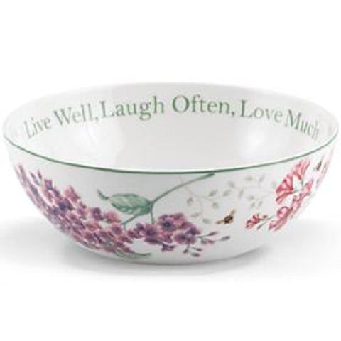 LENOX Butterfly Meadow Sentimental Serving Bowl - Ria's Hallmark & Jewelry Boutique