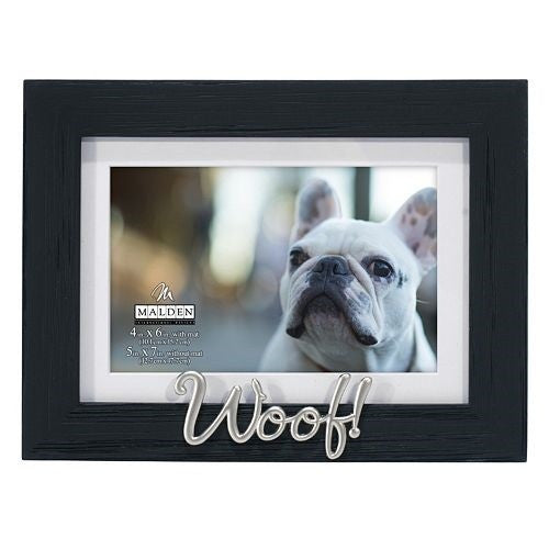 "Malden ""Woof!"" Photo Frame - Ria's Hallmark & Jewelry Boutique"