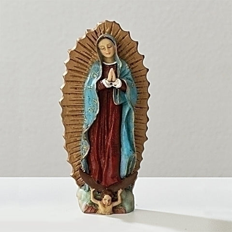 Roman Our Lady of Guadalupe Statue Patrons & Protectors
