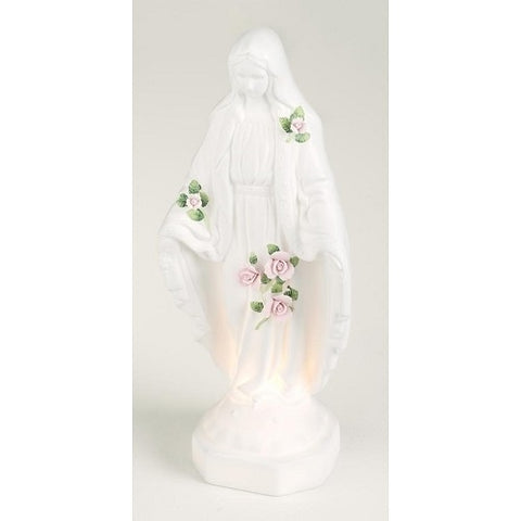 Roman Our Lady of Grace Porcelain Night Light