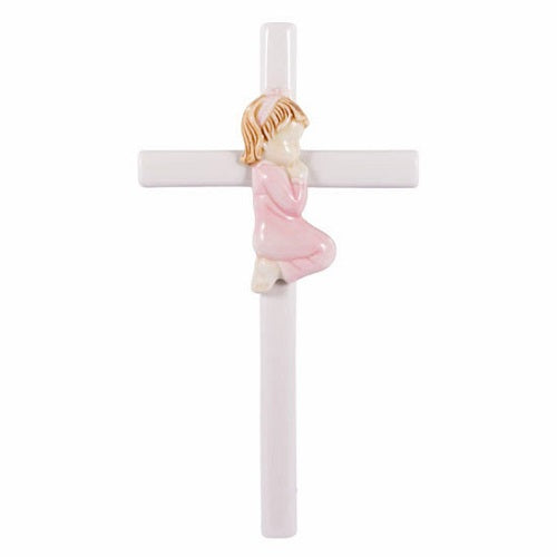Roman Praying Girl Cross