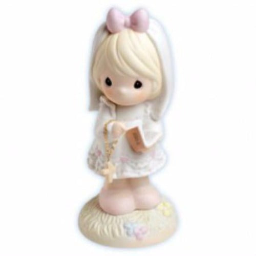 Precious Moments This Day Has Been Made In Heaven Girl Communion Figurine - Ria's Hallmark & Jewelry Boutique