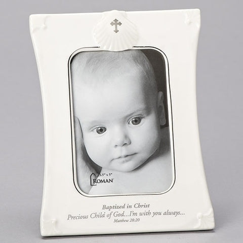 Baptism Vertical Frame Precious Child of God by Roman