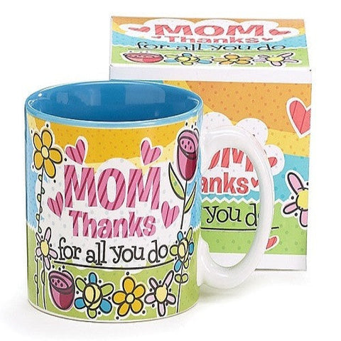 Mom Thanks Mug by burton + Burton