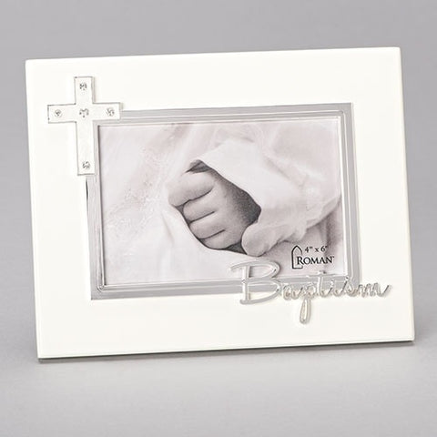 Baptism Frame Caroline Collection