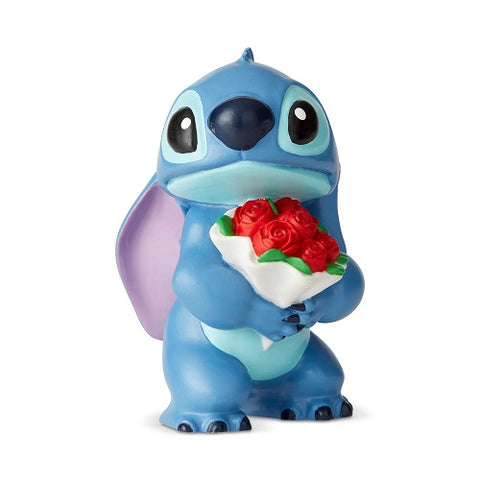 Disney Showcase Stitch with Flowers Mini Figurine