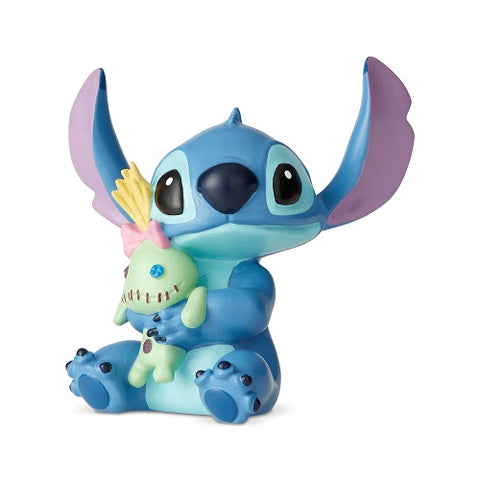 Disney Showcase Stitch with Doll Mini Figurine