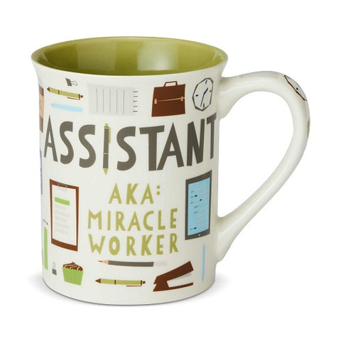 Assistant Miracle Worker Mug