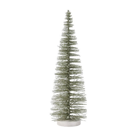 Department 56 Green Glitter Tree