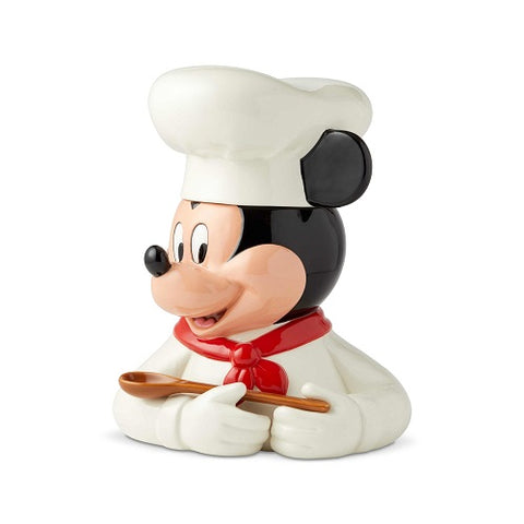 Chef Mickey Cookie Jar Disney Ceramics