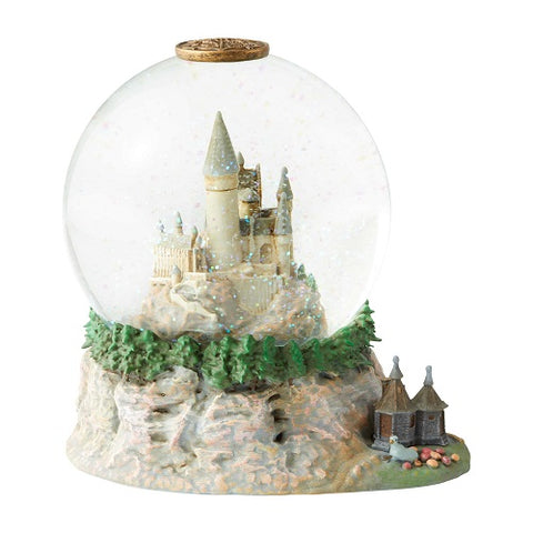 Harry Potter Hogwarts Castle Waterball With Hagrid's Hut