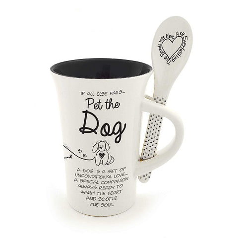 Dog Mug and Spoon set Children of the Inner Light
