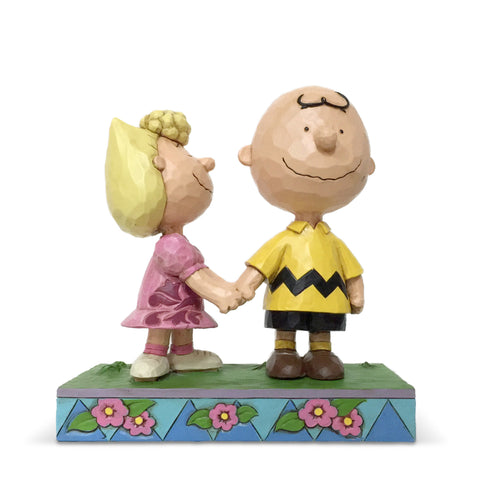 Charlie Brown and Sally Peanuts by Jim Shore