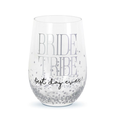 Bride Tribe Rocks Glass Our Name Is Mud