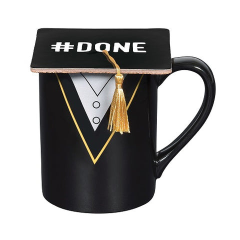 Graduation Mug with Coaster Set