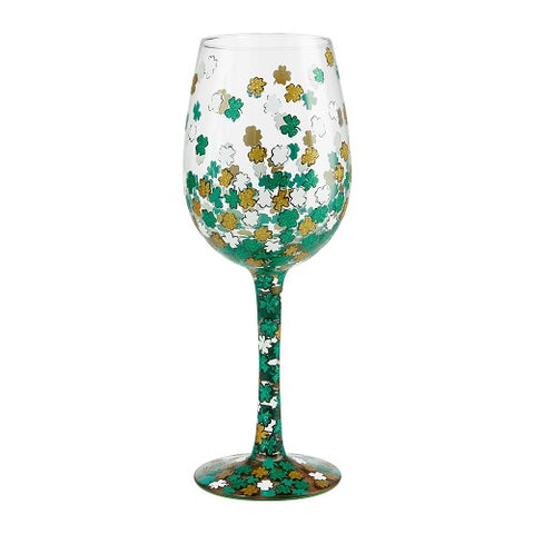 Wine Glass Shamrock Lolita
