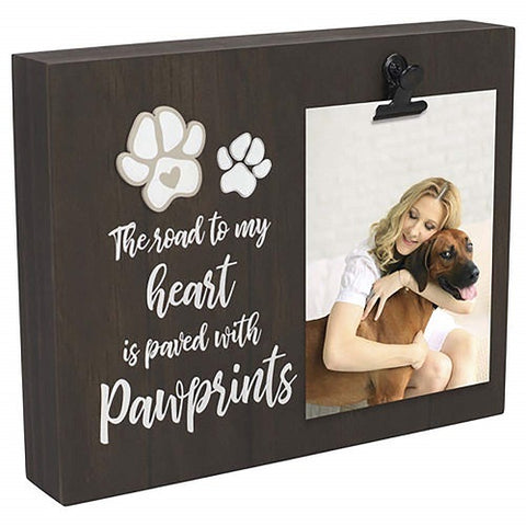 Malden International Designs Pawprints Clip Frame