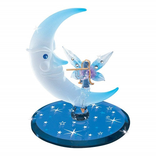 Glass Baron Moon Fairy Figurine