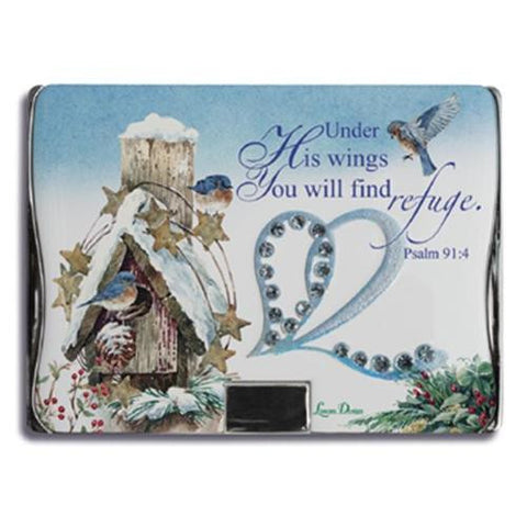 Lissom Design Compact Mirror Winter Wonderland - Ria's Hallmark & Jewelry Boutique