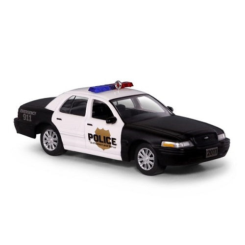 2011 Ford Crown Victoria Police Interceptor Metal Ornament