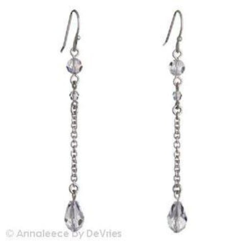 Crystal Drop by Annaleece Swarovski Crystal Earrings - Ria's Hallmark & Jewelry Boutique