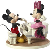 Precious Moments Our Love Is A Sweet Melody Mickey and Minnie Musical