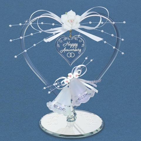 Glass Baron Anniversary Heart